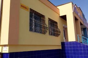 Штукатурный и клинкерный фасад