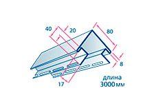 Планки к сайдингу и фасадным панелям